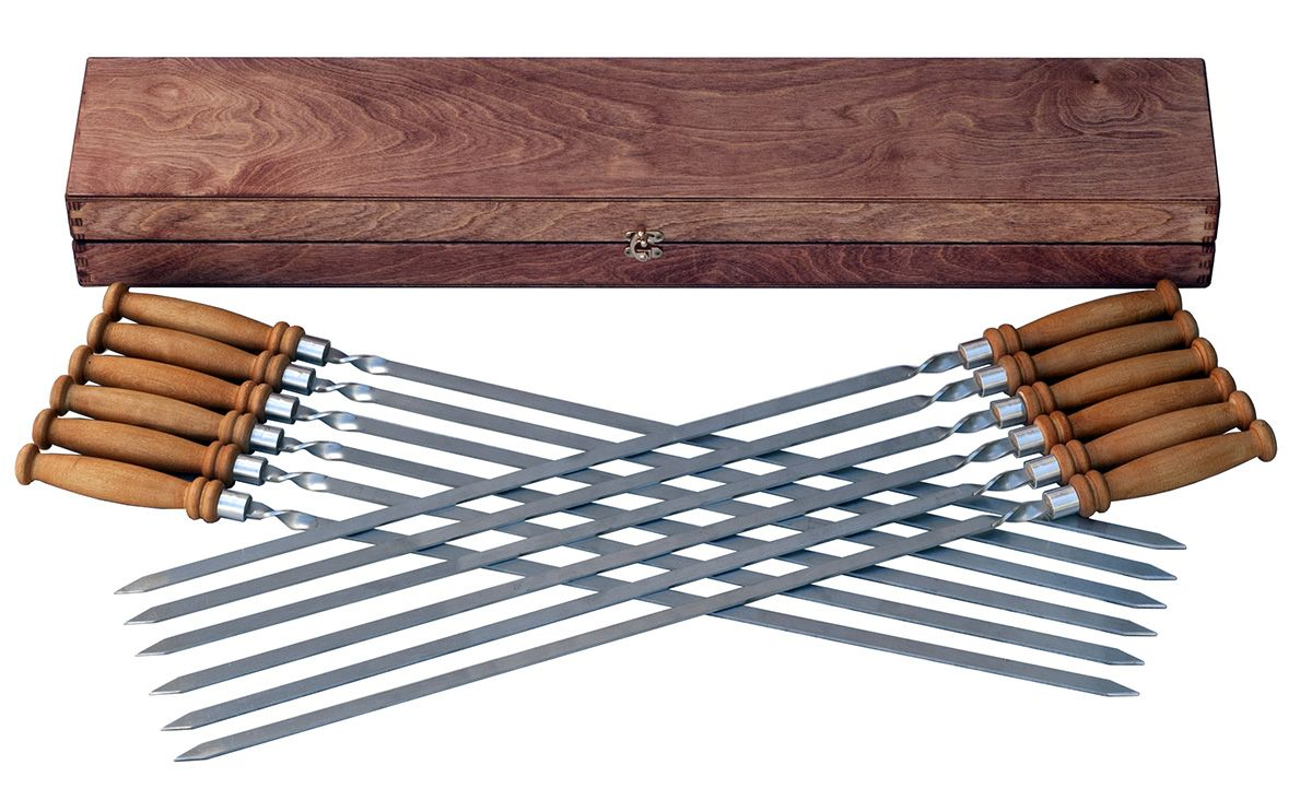 Как сделать деревянный шампур